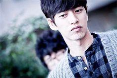 His lips... Park Hae jin