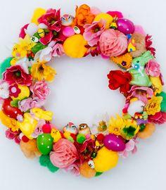 Workshop pasen: paaskrans maken- easter wreath- http://www.galerie-lucie.nl