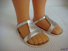 Sandales argent (3)