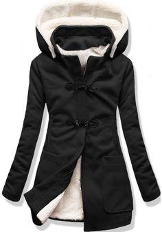 Kabát 8253 černý