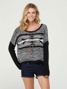 Roxy Good Day Sunshine Sweater