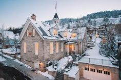 36 of the World's Best Ski Chalets and Lodges to Visit Right Now | Washington School House