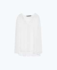 Image 8 of SILK BLOUSE from Zara