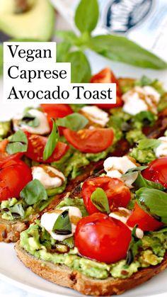 Tasty Vegetarian Recipes, Vegan Dinner Recipes, Healthy Breakfast Recipes, Whole Food Recipes, Dinner Healthy, Healthy Summer, Healthy Organic Recipes, Healthy Avocado Recipes, Eating Healthy
