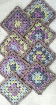 Beatrice Ryan designs Crochet-A-Long Afghan