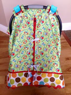 """DIY Carseat Canopy Pattern 