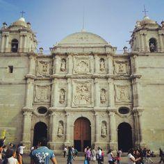 Catedral. Oaxaca de Juarez. Mx. (recuerdos de 2012)