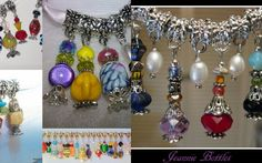 6 - Mini Bead Perfume Bottle Euro Charms. is going up for auction at  2pm Wed, May 22 with a starting bid of $12.