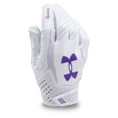 Under Armour Adults' Limited Edition Spotlight Football Gloves Blue/White - Football  Equipment, Football Equipment at Academy Sports