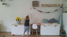 Speelhoek van Stan :-) a la Ikea en accessoires van psikhouvanjou