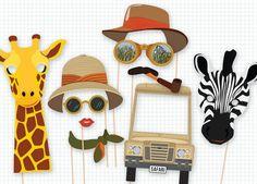 Mottoparty Ideen - Masken für schöne Fotos