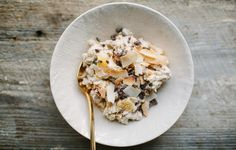 Orange-Date Muesli with Coconut and Cacao Nibs - Bon Appétit