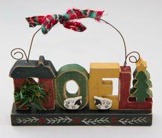 "Primitive Wooden ""Noel"" Wall Decor"