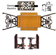 Sewing mini printables - Sherree - Picasa Web Albums by alissa Doll House Crafts, Paper Doll House, Paper Houses, Doll Crafts, Paper Furniture, Doll Furniture, Dollhouse Furniture, Vitrine Miniature, Miniature Dolls