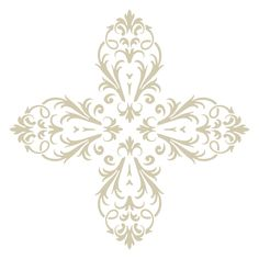 You can use this Victorian Baroque Accent Stencil to paint your own patterns all over your wall or Floor. Quickly and easily create Victorian historical ambience in your home!