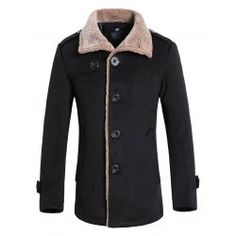 SHARE & Get it FREE | Faux Fur Collar Single Breasted Wool Mix JacketFor Fashion Lovers only:80,000+ Items • FREE SHIPPING Join Twinkledeals: Get YOUR $50 NOW!