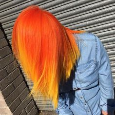 WEBSTA @ slunks - Another shot of Chelsea's orange sunshine look, styled differently.