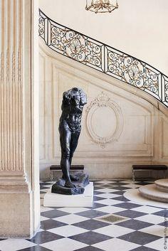 Inside Musée Rodin in Paris by Paris in Four Months, via Flickr