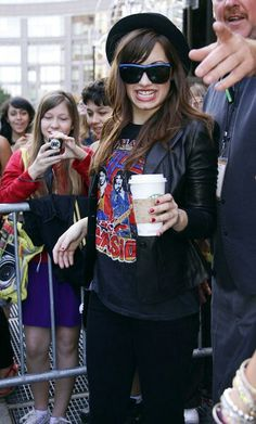 August 11th 2008 - Demi Lovato out in New York