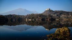 reflections on a lake @ ivrea (italy)