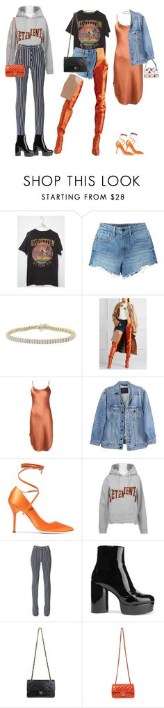 """""""I Love You But I Need Another Year Alone"""" by deadinsidebutstillchillin ❤ liked on Polyvore featuring Alexander Wang, Vetements, Maiyet, Y/Project, Sonia Rykiel, Marc Jacobs, Chanel, Louis Vuitton, manoloblahnik and vetements"""