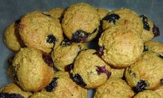 Sunday Baking in the Kitchen - Low-Fat Blueberry Bran Muffins - In The Kitchen With KP Blueberry Bran Muffins, Mini Muffins, Blue Berry Muffins, Fiber For Kids, Good Morning Breakfast, Muffin Bread, Hash Brown Casserole, Leftover Ham, Recipe Of The Day
