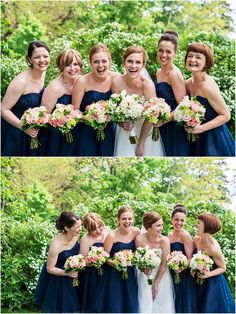 Bridesmaid photo...must do a laughing one