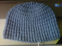 How to crochet basic Beanie Tutorial