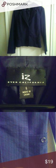 IZ Byer blazer SZ LG IZ Byer blazer SZ LG. Great condition. Comes from smoke and pet free home. Iz Byer Jackets & Coats Blazers