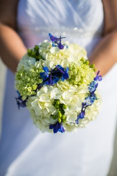 Blue green beach wedding ideas