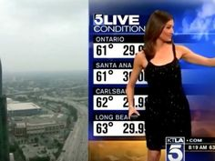 A male news anchor told a female meteorologist to cover up on live television and people can barely believe it