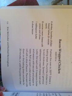 "Bacon-Wrapped Chicken (book: ""4 Ingredients Gluten-Free"")"