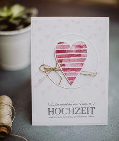 Hallo zum Stempelherz-Hop zum Thema Hochzeitsgratulationen. Passt wie Faust auf Auge, nachdem eine Hochzeitskarte vor kurzem als Workshop Projekt gewünscht wurde. Farblich sind wir sehr zart unterw…