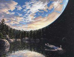 Rob Gonsalves. realismo magico