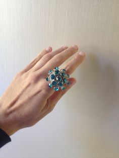 Repurposed Cocktail Sea Urchin Statement Ring in by ZiLLAsQuEeN, $12.00