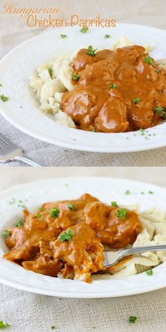 Hungarian Chicken Paprikas with Homemade Spaetzle. My Hungarian husband LOVED it! ~American Heritage Cooking Read Recipe by recipegirl Hungarian Cuisine, Hungarian Recipes, Slovak Recipes, Hungarian Food, Italian Recipes, Turkey Recipes, Chicken Recipes, Dinner Recipes, Beef Recipes