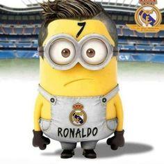 Ronaldo minion haha