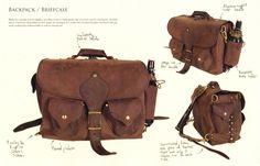Leather Work by Mark vanWeerd at Coroflot.com