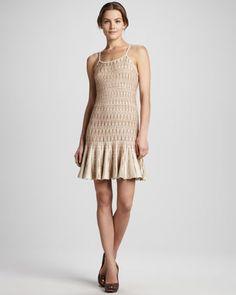 Modern Flapper Dress | ... Fern drop-waist knit slip dress at Alice + Olivia on Fillmore Street