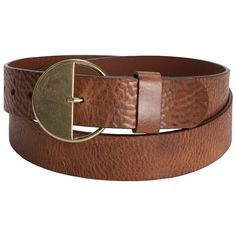 Danbury Country Leather Belt (For Women))