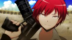 Akabane Karma from Assassination Classroom