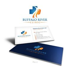 Buffalo River Clinic - Medical clinic needs a nice logo and business card