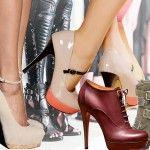 2013 Ayakkabı Modası | Hangi Moda2013 sezonunda ayakkabı modellerinde çok renkli çeşitlilik görüyoruz. Rahat olduğu kadar şık ve dikkat çekici ayakkabıların yanısıra, gerçekten cesaret isteyen ayakkabı modelleri de göze çarpıyor.    Tamamen tarzınıza uygun bir ayakkabı modeli mutlaka bulabilirsiniz. O kadar çok seçenek mevcut ki.
