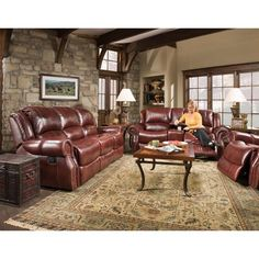 10 best leather reclining sofa images in 2015 recliner recliners rh pinterest com