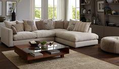 Adler L Shape Sofa (White)-1