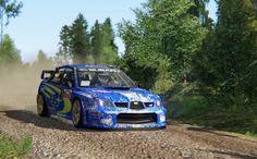 Subaru Impreza S12 WRC at Kanniranni