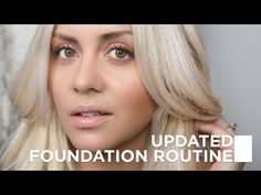 My Flawless Foundation Makeup Routine - YouTube