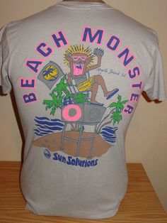 beach monster