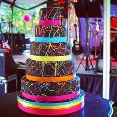 Rave cake!! Haha