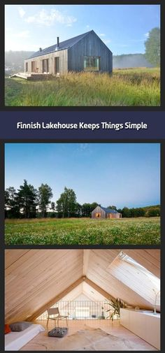 Finnish Lakehouse Keeps Things Simple Mny Arkitekter Built House Akerudden Arkitekter Built F In 2020 Lake House Building A House Sustainable Architecture